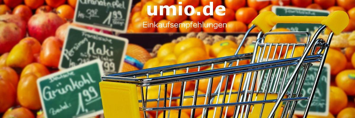 umio.de - Einkaufsempfehlungen